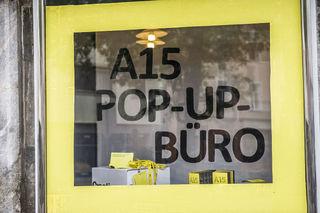 Kreative Szene: Neben dem normalen Standort in der Stiegergasse macht die Wirtschaftsabteilung auch ab und zu Pop-Up-Büros auf.