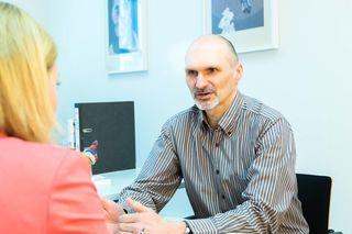 Gesundheit liegt ihm am Herzen: A. Schwerdtfeger im Gespräch mit V. Schaupp