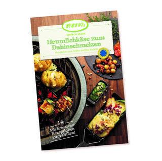 Das neueste Heumilch-Rezeptheft widmet sich dem Schmelzverhalten unterschiedlicher Käsesorten und präsentiert zwölf kreative Rezeptideen für Käse am Grill oder Raclette.