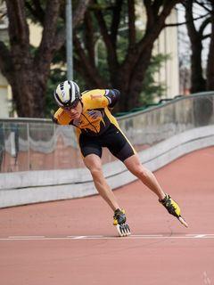 Die steirischen Speedskater trainierten vor Ostern im italienischen Mirano.
