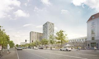 Der 66 Meter hohe Wohnturm am Heumarkt sorgt weiterhin für politische Verwicklungen.
