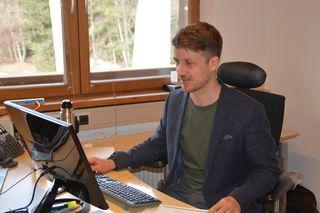 Geschäftsführer Elias Walser zeigt sich zufrieden mit der vergangenen Saison