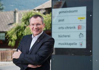 LR Johannes Tratter ist als Gemeindereferent für die Anliegen der Gemeinden im Land zuständig.
