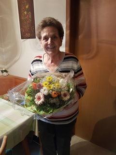 Jubilarin Maria Geiger