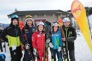 Christian Wimmer (Fischer), Hans Knaus, Nicole Schmidhofer, Eva-Maria Brem, Klaus Manhard (Fischer).