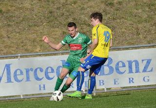 Melih Tepegöz erzielte den Ausgleich für den Ilzer SV.