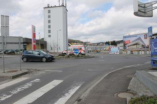 Der Kreisverkehr an der Gemeindegrenze Gallneukirchen-Engerwitzdorf ist ein neuralgischer Verkehrsknotenpunkt.