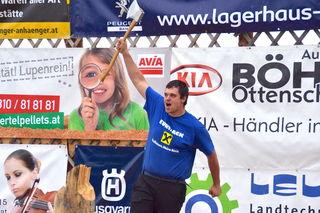 Der vierfache Europameister Armin Kugler hat viel zu feiern.