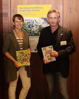 v. l. n. r.: Mag. Nicole Seiler (Ernährungswissenschafterin) und Harald Köppel (stellvertretender Leiter des NÖGKK-Service-Centers Mistelbach)