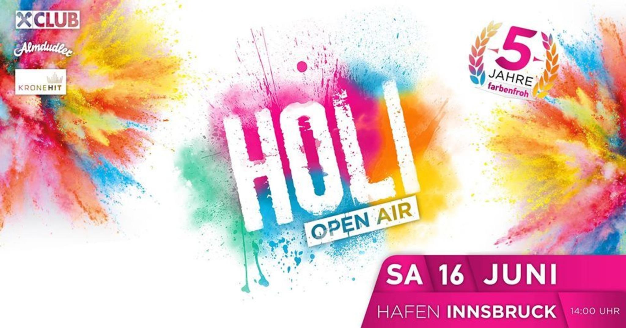 Holi Festival Karten