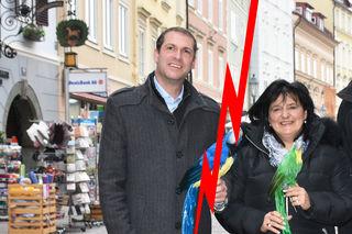 Vor einem Jahr war alles noch in Ordnung, als Wirtschaftsstadtrat Markus Geiger und IG-Innenstadtobfrau Cornelia Hübner das Jahresprogramm der IG Innenstadt präsentierten