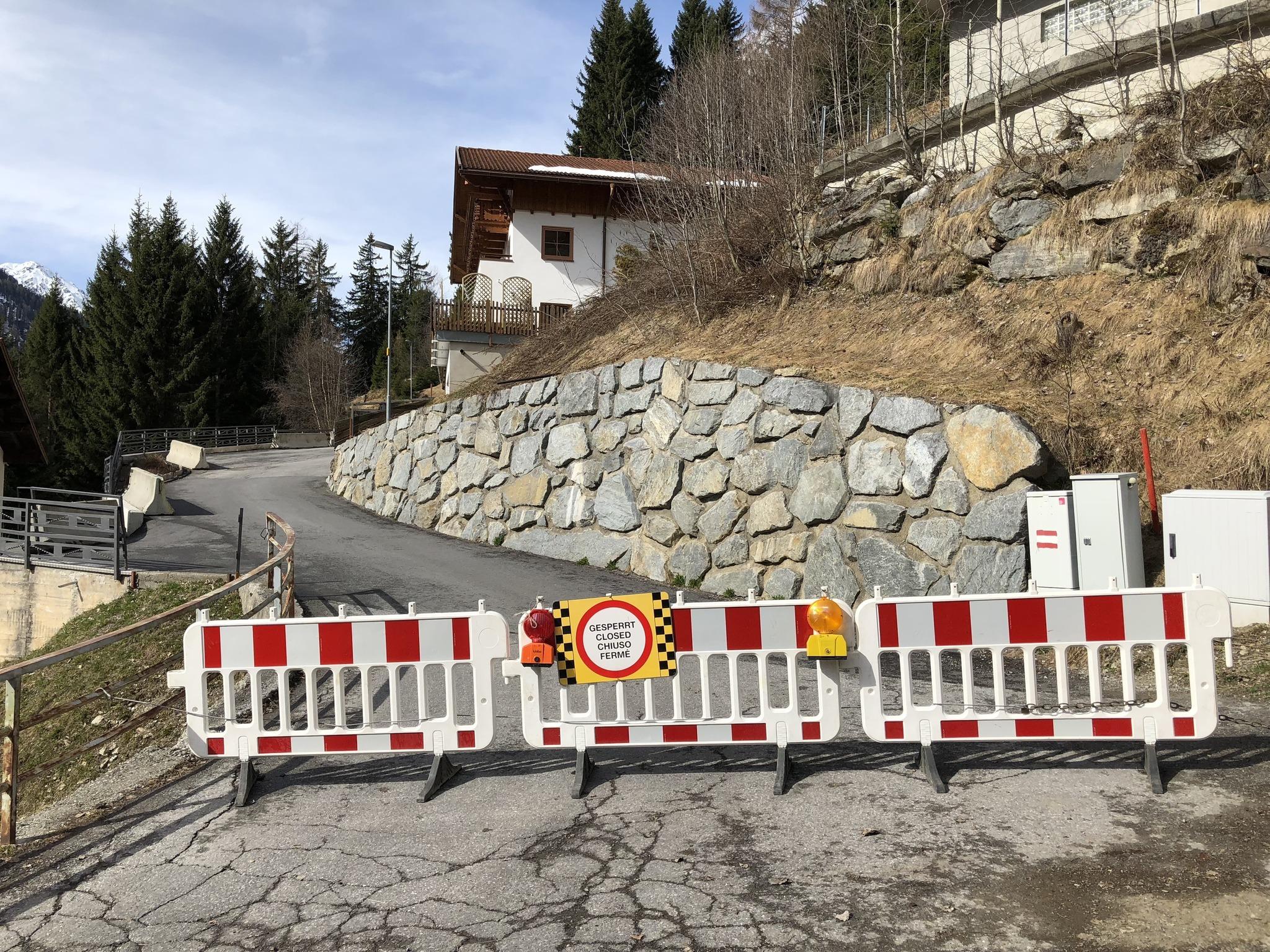 Kappl Haus nach Hangrutsch evakuiert Landeck