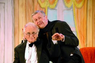 Manfred Semler und Otto Konrath (li.) spielen beim Kultursommer.