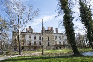 Das Schloss Pottendorf.