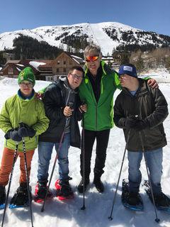 Michael Ramsbacher, Gernot Platzer, Trainer Werner Steindl und Peter Pirker.