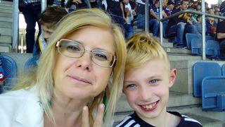 Wir freuen uns über den von SK Sturm Graz und das wir beim Spiel dabei sein durften.