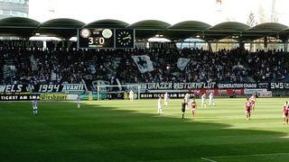 Dank EZE Emeka Friday spielt sich der SK STURM Graz immer näher an den Sieg.