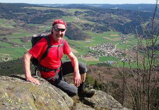 Top-Blick vom Kleinen Peilstein auf Laimbach