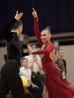 Fotocredits: Regina Courtier - Magda Trepa & Kacper Kopec in Jugend A Latein