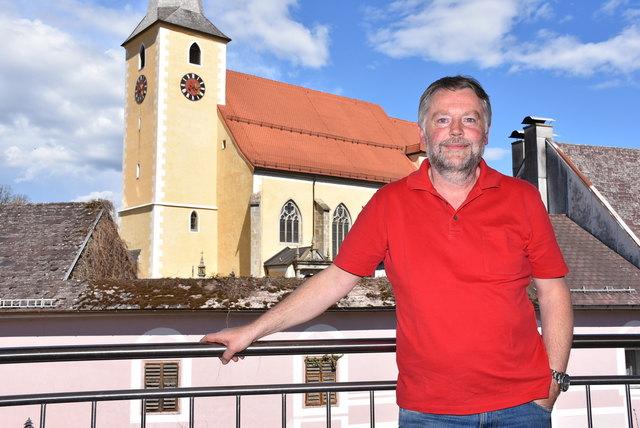 Erhard Meindl, Ausstellungsverantwortlicher der Strudengauer Messe seit 1985