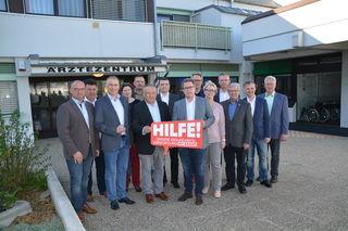 Die ÖVP des Bezirkes Neusiedl tritt geschlossen auf.