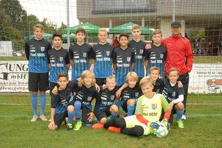 Spielgemeinschaften gehören der Zukunft: SK und ATSV Schärding stellen seit zwei Jahren gemeinsam die U14 Mannschaft.