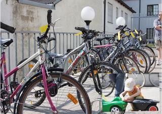 Am 21. April findet in Neusiedl am See wieder die Radbörse statt.