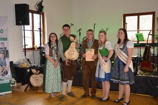 Mostprämierung in Scheibbsbach: Familie Steinhammer aus Scheibbs holte den dritten Platz.