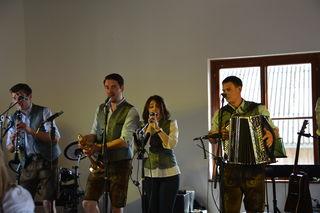 """Die """"Kronwildkrainer"""" aus dem Ybbstal sorgten in Scheibbsbach für tolle musikalische Unterhaltung."""