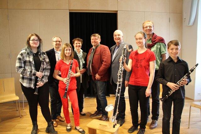 SaNiSoNo (Ernst Sophie, Neubauer Samuel, Neunteufel Nina und Ulbrich Noemi) vom Musikverein Leobendorf / Kreuzenstein