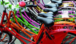 Bei der Radbörse in Pinkafeld können gebrauchte Fahrräder, Zubehör & Co. ge- oder verkauft werden.