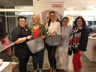 Netz in der Region bei drei Unternehmerinnen in Frauenkirchen.