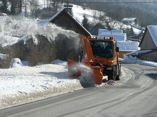 Der schneereiche Winter forderte viele Einsatzstunden. 100 Kilometer Straße sind von den Wirtschaftshof-Mitarbeitern zu räumen.