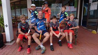 Der TC Bad Ischl ist mit zahlreichen Jugendlichen bei den Mannschaftsmeisterschaften vertreten.