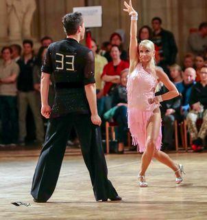 Karin Greiner und ihr Tanzpartner Markus Schwarz