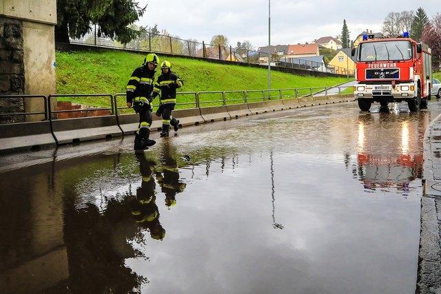 Eine Unterführung in Knittelfeld stand unter Wasser. Foto: Zeiler