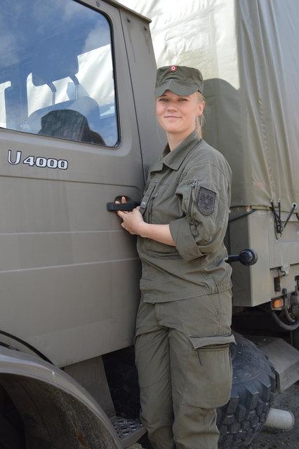 Stolze Soldatin: Korporal Bianca Oberrauner
