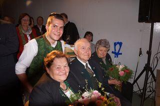 Joahnnes Pichler mit Omas und Opa.