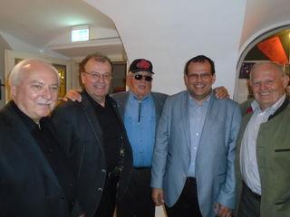 Ewald Polacek, Franz Wieczorek, Canada Joe, Friedrich Forsthuber und Franz Müssauer.