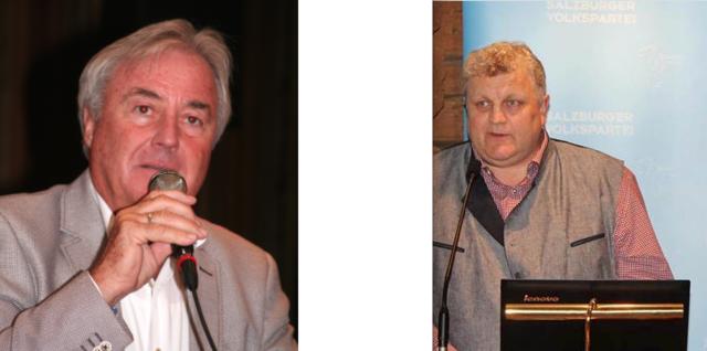 Peter Nindl und sein potenzieller Nachfolger Andreas Schweinberger.