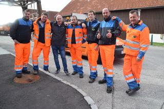 Die Mitarbeiter der Straßenmeisterei Tulln hatten diesen Winter mit keinen ernsten Problemen zu kämpfen.