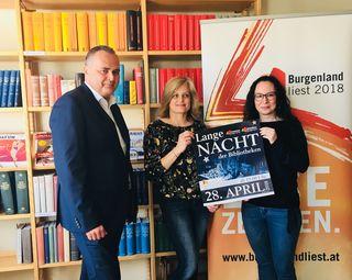 Am 28. April stehen Burgenlands Bibliotheken den Lesebegeisterten offen.