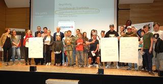 Rund 25 Jugendliche fanden sich zur Präsentation der Umfrageergebnisse im LMS-Saal ein.