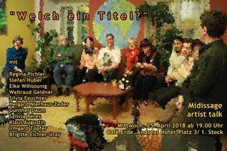 Einladung zur April-Midissage der :freien galerie: