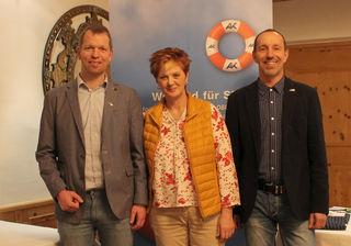 Gregor Prantl, DBKP Brigitte Staffner, Hans Seiwald