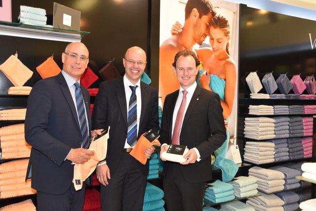 Die Marke stärken: Mit Vossen-Qualität wollen Werner Blohmann, Hermann Wiesinger und Paul Mohr (von links) neue Märkte erobern.