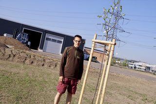 Der Melker Thomas Spitzer siedelte sich mit seiner Gartengestaltungsfirma in Loosdorf neu an.