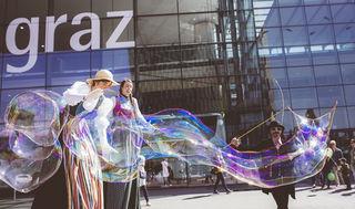 Information und Unterhaltung stehen auf der Grazer Frühjahrsmesse im Mittelpunkt.