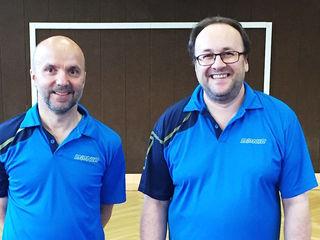 Harald Jesacher und Mario Salfenmoser holten drei Medaillen.