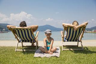 Das Klagenfurter Strandbad sperrt am 28. April wieder auf! Die ersten Mutigen können den Sprung in den Wörthersee wagen